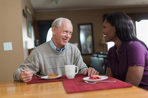 CAREGivers provide non-medical care services to help your loved one age at home.
