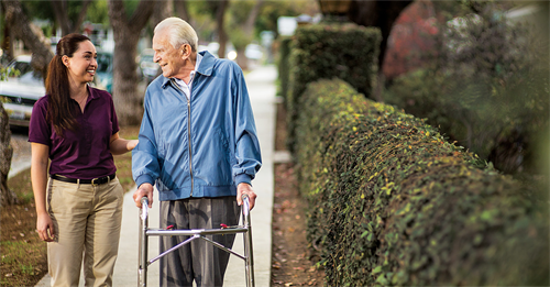 Our CAREGiver complete world-class training and development programs upon hire and throughout their employment.