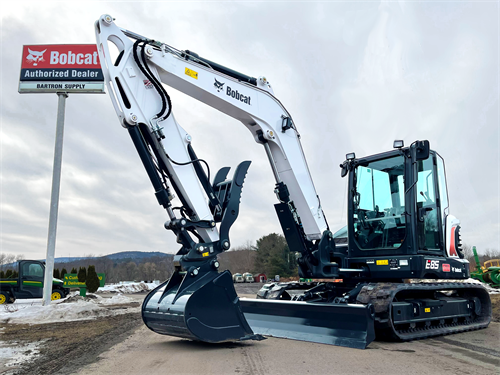 The New Bobcat E85 Compact Excavator