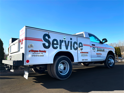 Bobcat Service Truck - Available on the jobsite!
