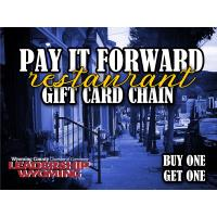 Pay it Forward Restaurant Gift Chain