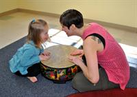 SSC's Creative Arts Therapies department addresses the needs of all populations.