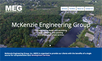 McKenzie Engineering Group - new website, can edit themselves, which was important! And a fellow Chamber member!  :-)