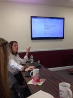 At Act Smart Pembroke learning about the South Shore Chamber website and SEO. Thank you Laurel Egan Kenny!