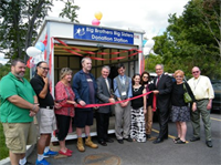 Grand Opening of Attended Donation Station, Lowell