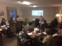 John Scott House in Braintree recently hosted an educational presentation on Caring for Veteran's at End of Life.