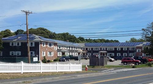 Cape Cod Condominium Solar Installation