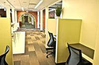 Coworking and desk space available, as well as spacious private offices.