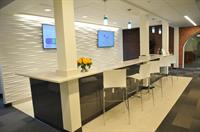 Common bar area in the Club Room is a perfect place for teambuilding at 5pm and for hosting events.