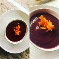 Carrot Soup from Chez Gray Gardens
