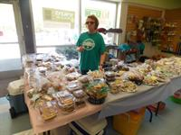 The famous APCSM bake sale happens the second weekend of every month