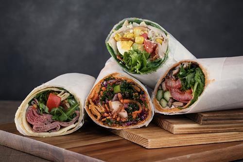 Variety of Wraps