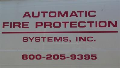 Automatic Fire Protection Systems Inc.