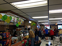 Subway Grand Opening inside Community Markets Green Springs