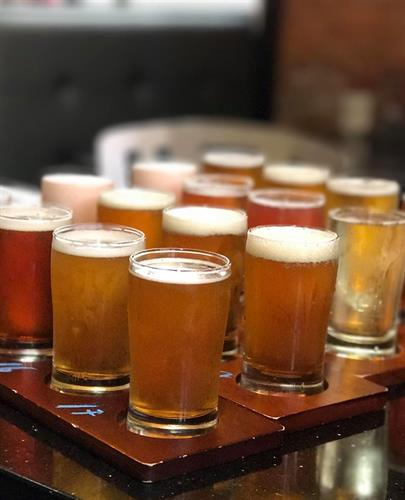 Beer flights