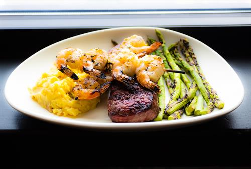 Steak & shrimp