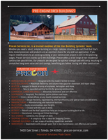 Procon Services - Pre-Engineered Steel Buildings