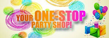 Let us be your one stop party shop! Plan ahead and we'll help!