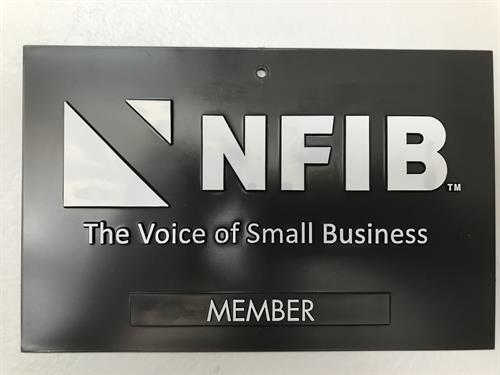 Proud NFIB Member  #NFIB #smallbusiness #local #fremontsweepercenter