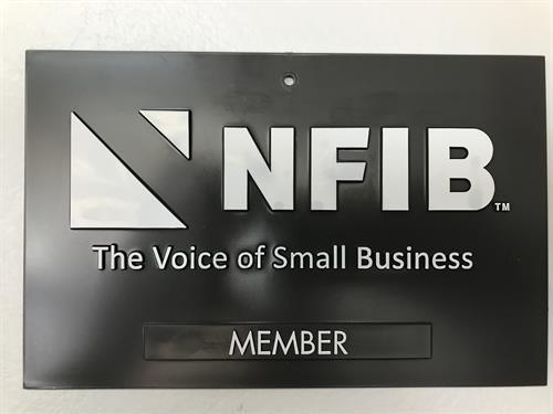Proud NFIB Member  #NFIB #smallbusiness #local #fremontsweepercenter