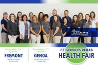 P.T. Services Rehabilitation, Inc.  Health Fair