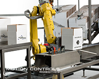 Robotic case erector