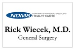 Rick Wiecek, MD, NOMS-General Surgery