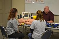 ACLS Course In Action on Personalized Levels