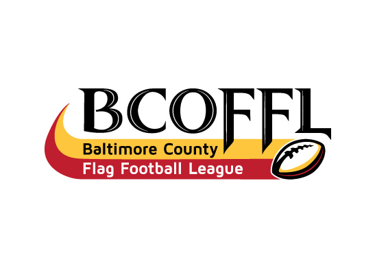 Logo Design for Baltimore County Flag Football League (BCOFFL)