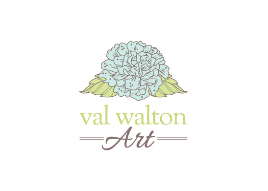 Logo Design for Val Walton Art