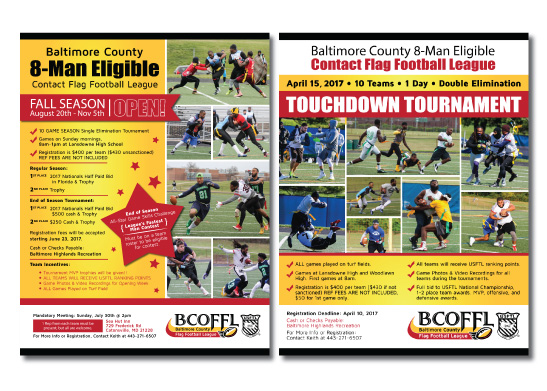Poster Designs for BCOFFL