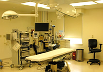 We use the accredited outpatient surgical facility in our building on Rt. 40.