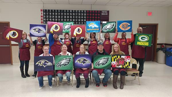 Paint Your Team Night in North East Md.