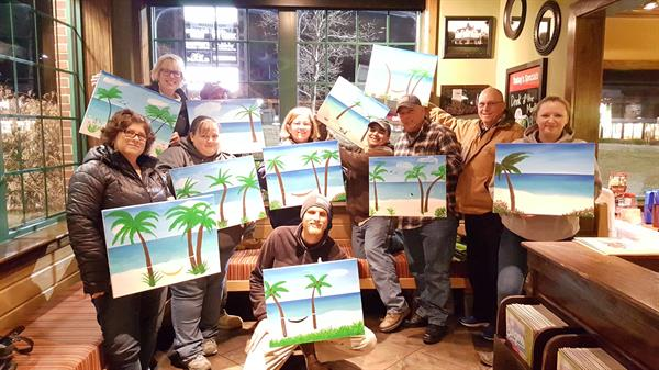 Aberdeen Home Depot Supervisor's Team Building Party at Applebee's