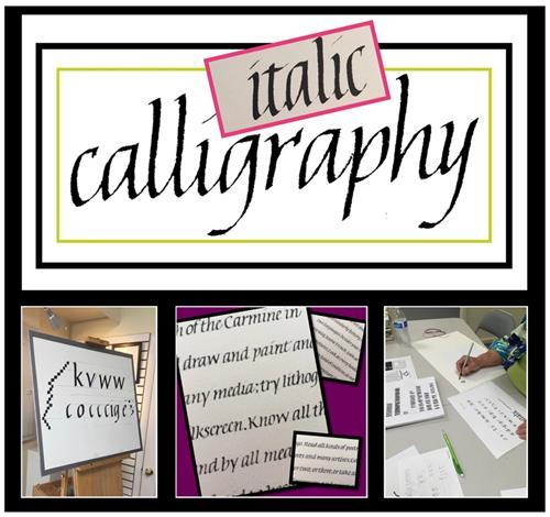 Beginning Calligraphy Italic Class 1 Refresh Sep 9