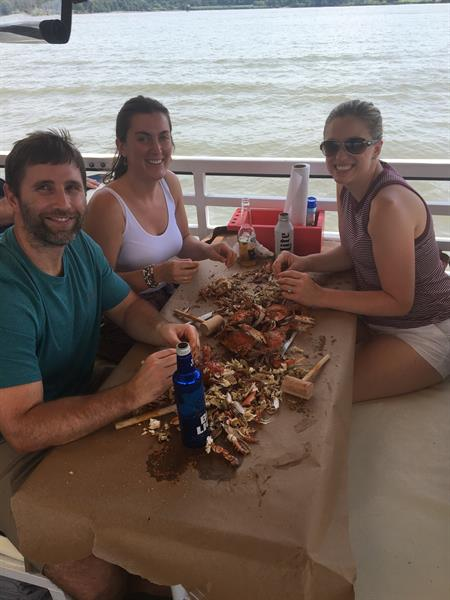 Another great crab cruise on Bay Breeze boat cruises...!!