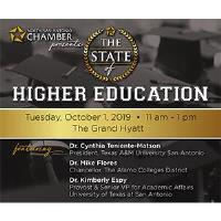 2019 State of Higher Education