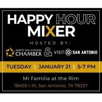 2020 Happy Hour Mixer with Visit San Antonio
