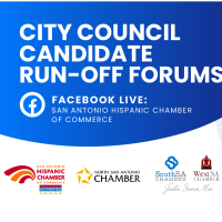 2021 San Antonio, City Council Candidate Run-off Forums