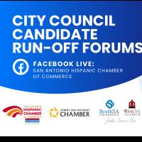 2021 San Antonio, City Council Candidate Run-off Forums
