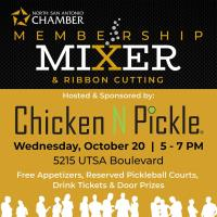Membership Mixer Hosted by Chicken N Pickle
