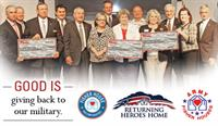 Broadway Bank Celebrates 75 Years of Good with a $75,000 Donation to the Military
