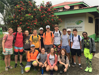 TMI Students Experience Community and Service in Costa Rica