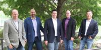 KFW Partners. Right to Left: Craig Fletcher, Steven Krauskopf, George Weron, Billy Classen, and Blaine Lopez