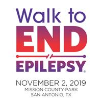 NSAC Member Event: Epilepsy Foundation Central & South Texas, Walk to END Epilepsy-San Antonio