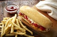 Try Our Chicken Parmigiana Breadstick Sandwich!