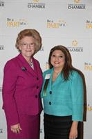 Small Business Leaders Award - with Marilyn