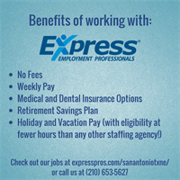 We're dedicated to providing benefits as well as job opportunities