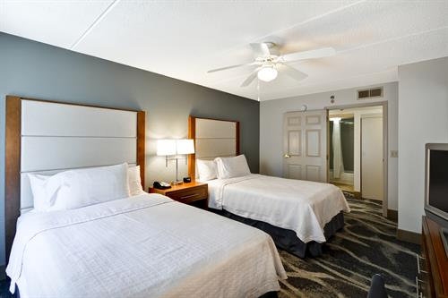 Suites with two double beds