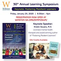 Winston's 30th Annual Learning Symposium: Fostering Resilient Learners